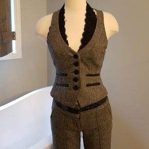 Bebe wool blend vest
